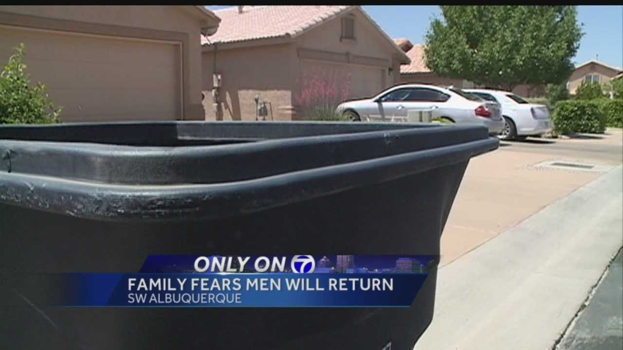 A southwest Albuquerque family speaks exclusively to Action 7 News.