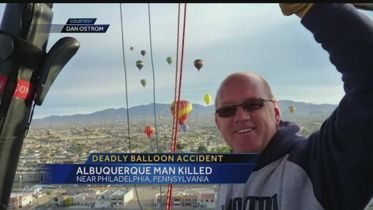Balloon Pilot Death