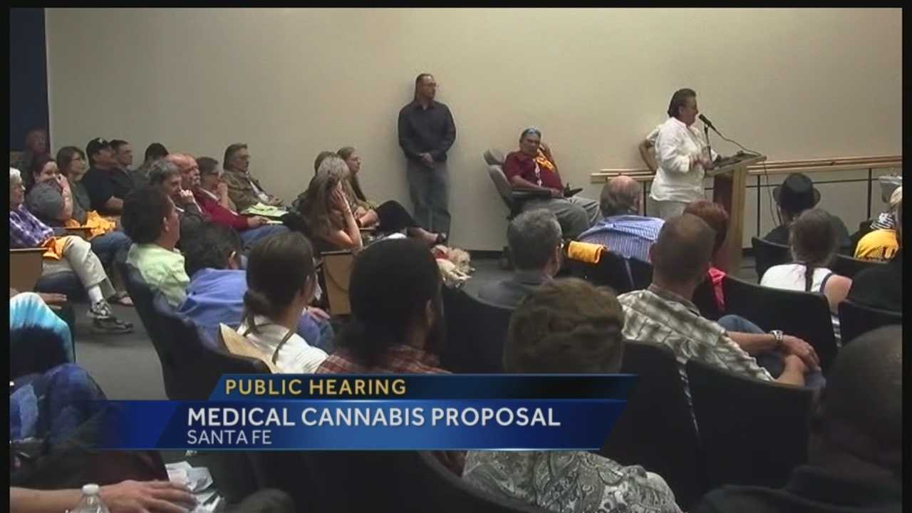 Pot Hearing on Laws