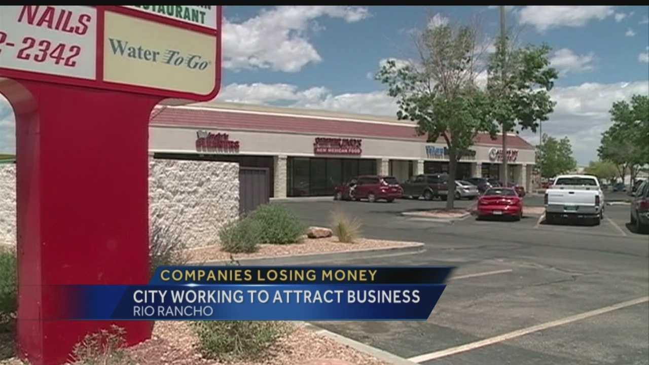 Rio Rancho lost a lot of businesses in Rio Rancho lost a lot of money in 2011 and 2012.  But the same data show, more and more people are living there.