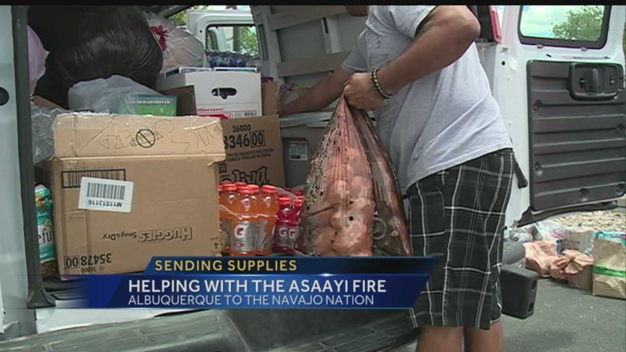 The Asaayi Fire may be burning in rural New Mexico, but for many families it's hitting close to home.