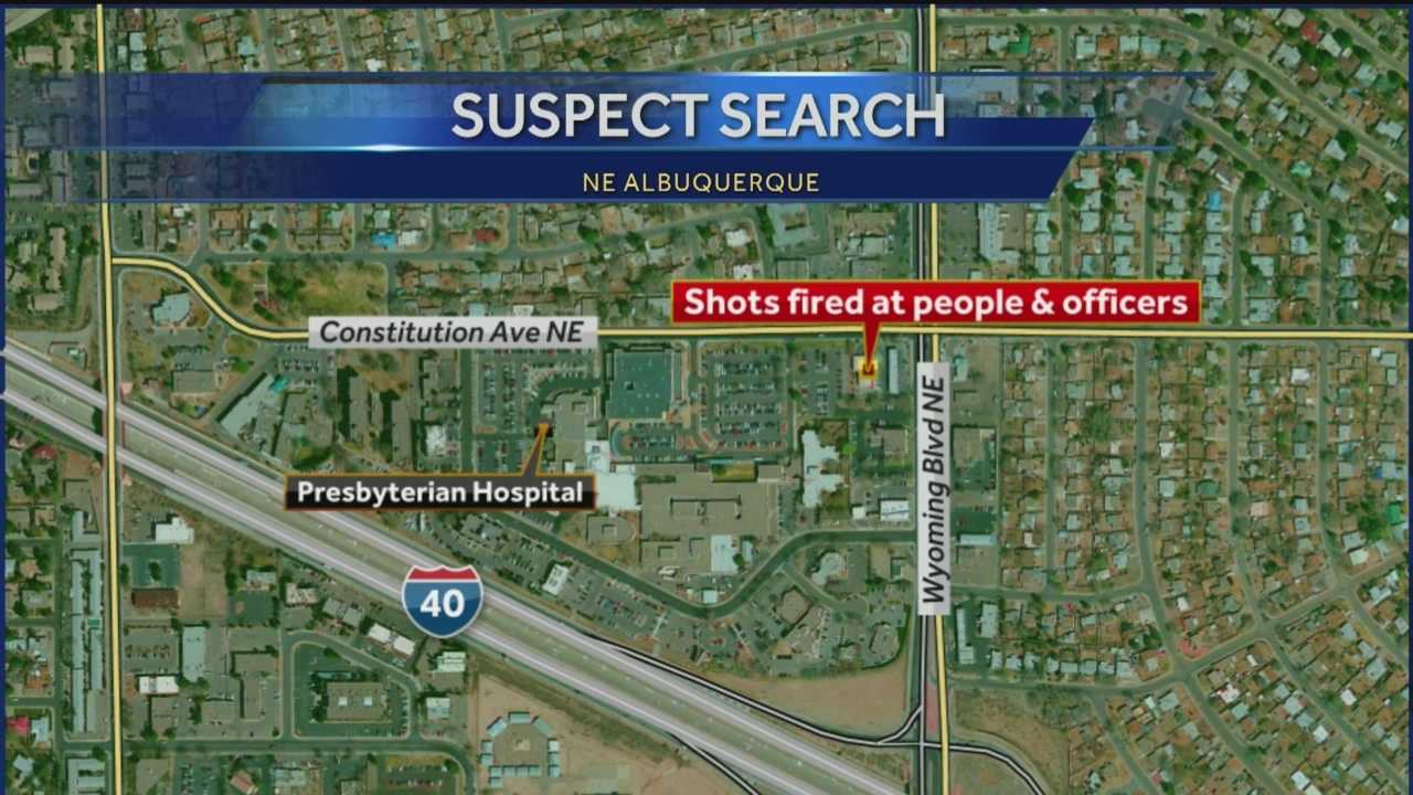 Shooter search: Shots fired at APD officers, witnesses