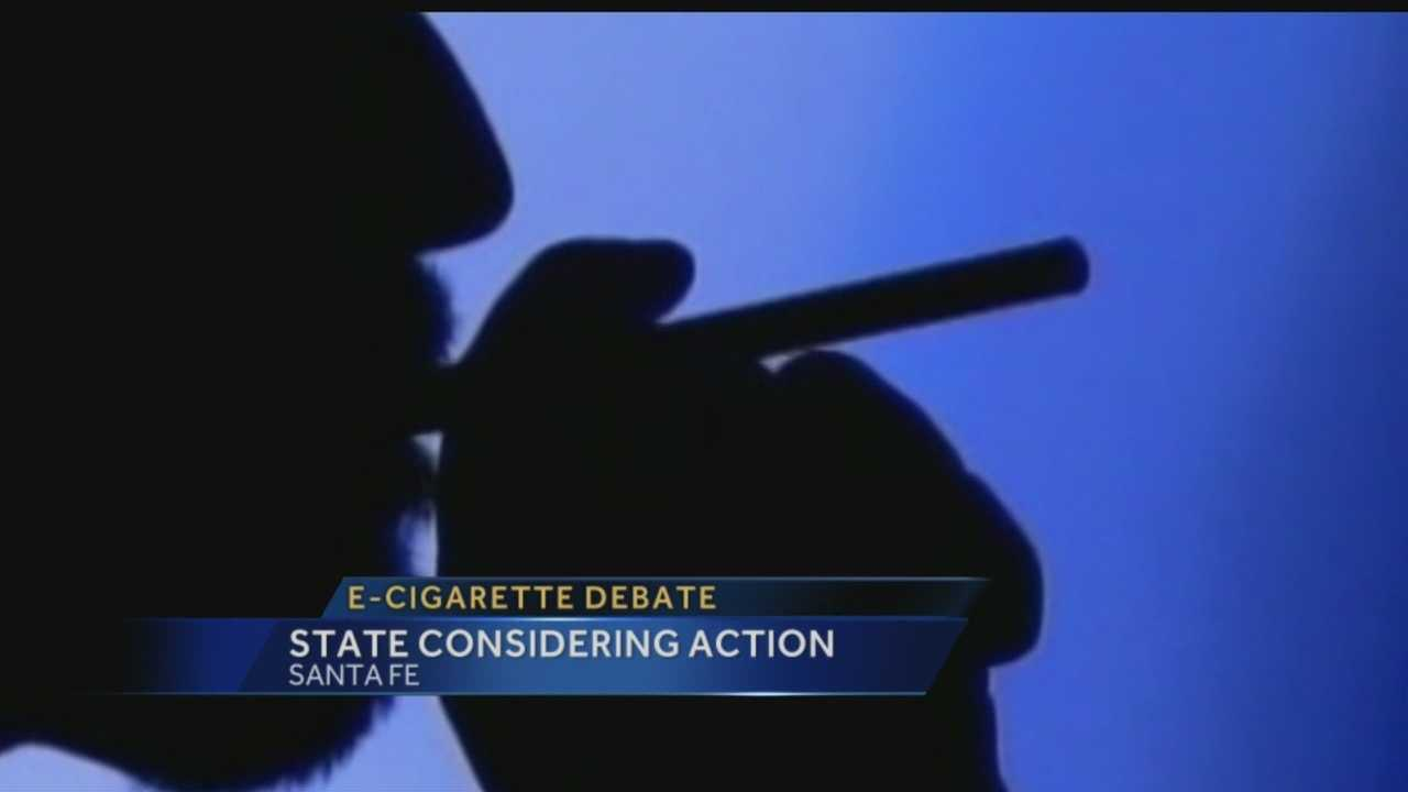 E-cig debate: State considers action