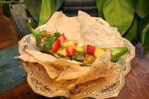 Mango-Strawberry Green Chile SalsaCLICK HERE to see the recipe
