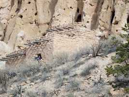 29.       Check out the Bandelier National Monument