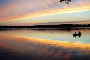 33. Go fishing at a New Mexico lake