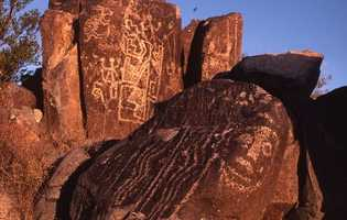 45.       Check out the Three Rivers Petroglyphs