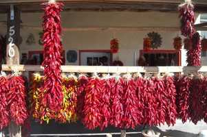 46.       Go to Hatch or Socorro and get fresh chile