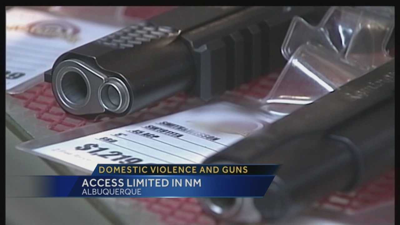 Domestic violence and guns: Access limited in NM