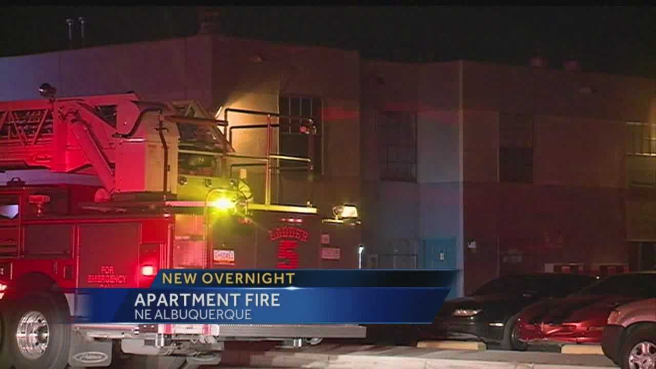 Overnight Apartment Fire