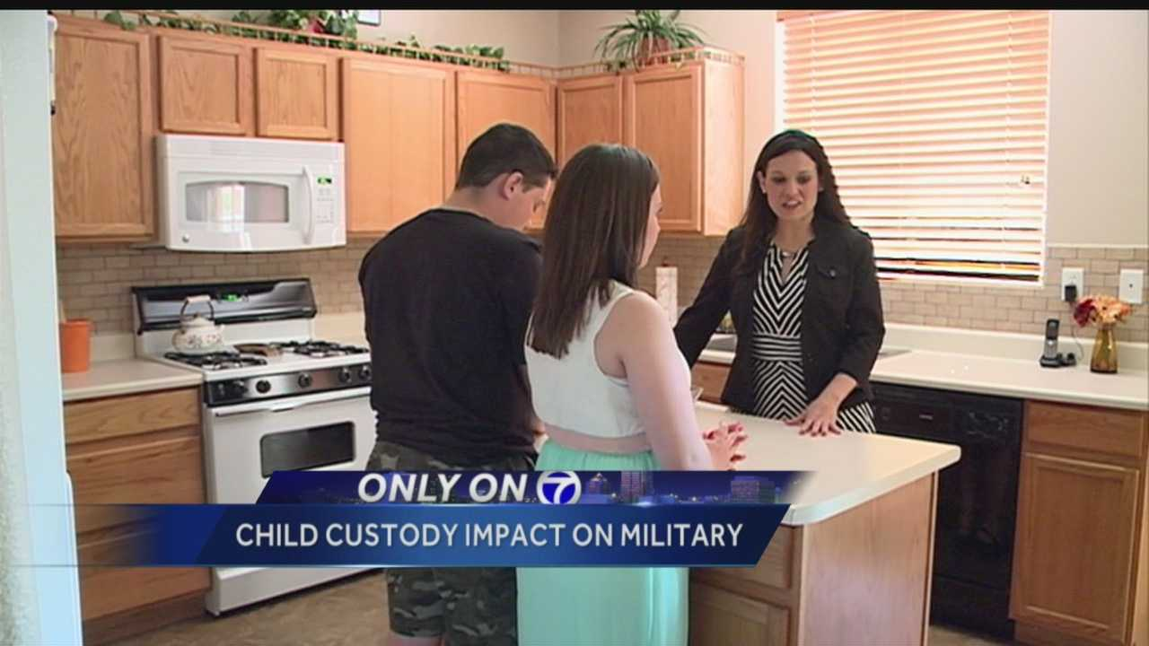Service members in New Mexico say a new law doesn't go far enough to protect troops' custody rights when they're deployed.