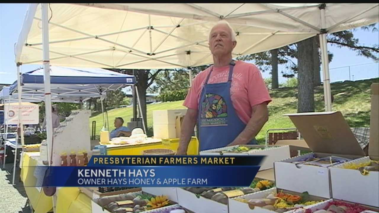 Presbyterian Hospital and Albuquerque Growers' Market are joining forces to help people get food.