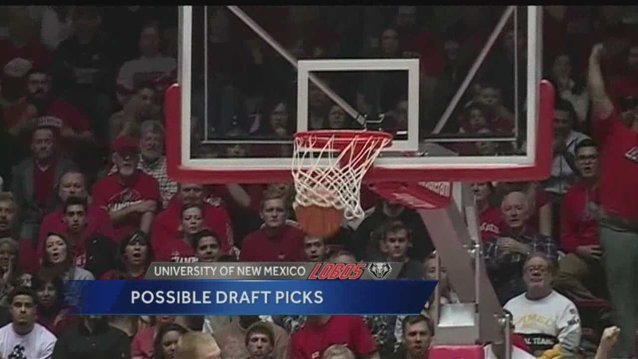UNM's possible NBA draft picks