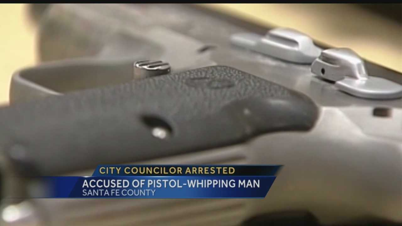 City councilor arrested, accused of pistol-whipping man