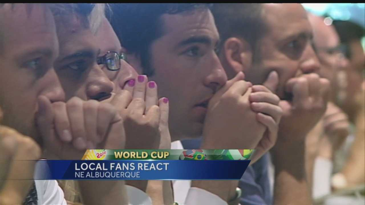 World Cup: Local fans react to Germany match