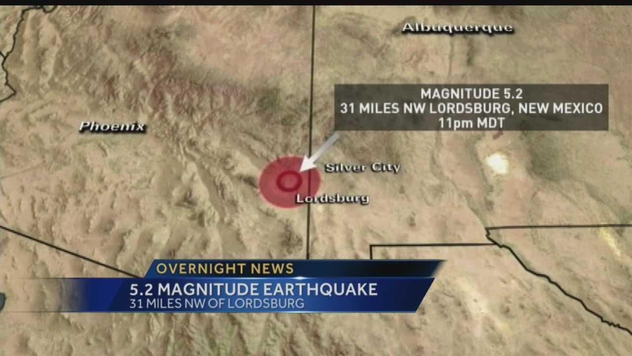 Overnight Earthquake