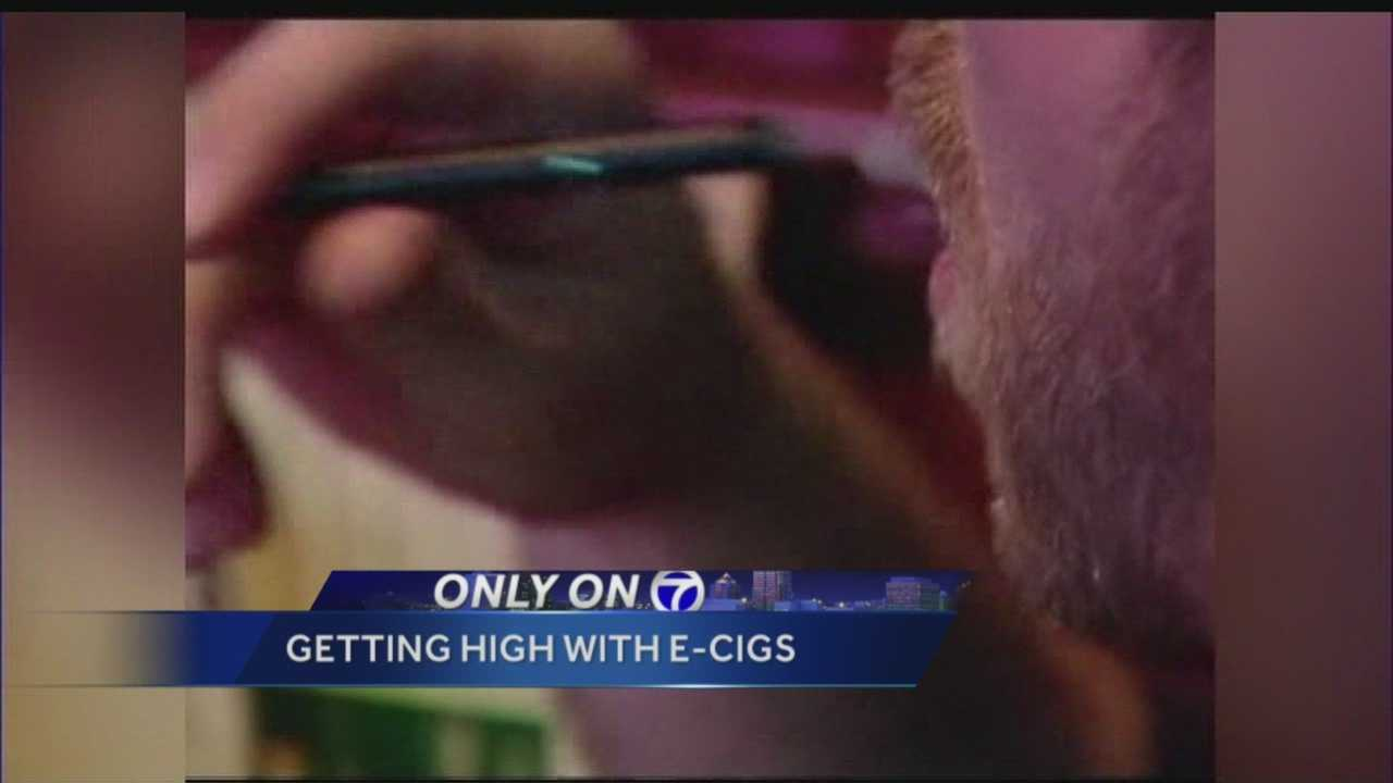 Using e-cigs for other drugs