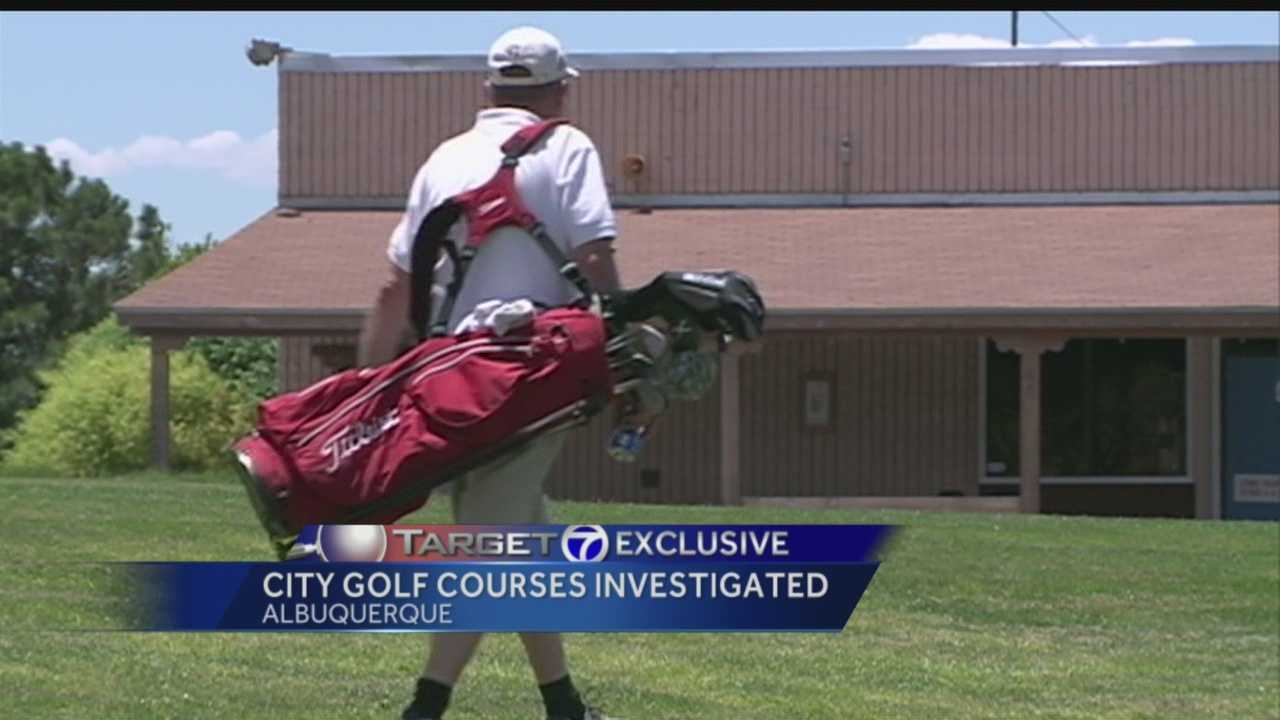 City golf courses investigated