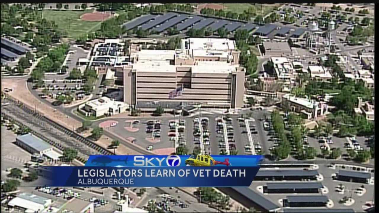 A veteran in one building of the Veteran Affair's hospital in Albuquerque died this week after having to wait for an ambulance to take him to a building next door.