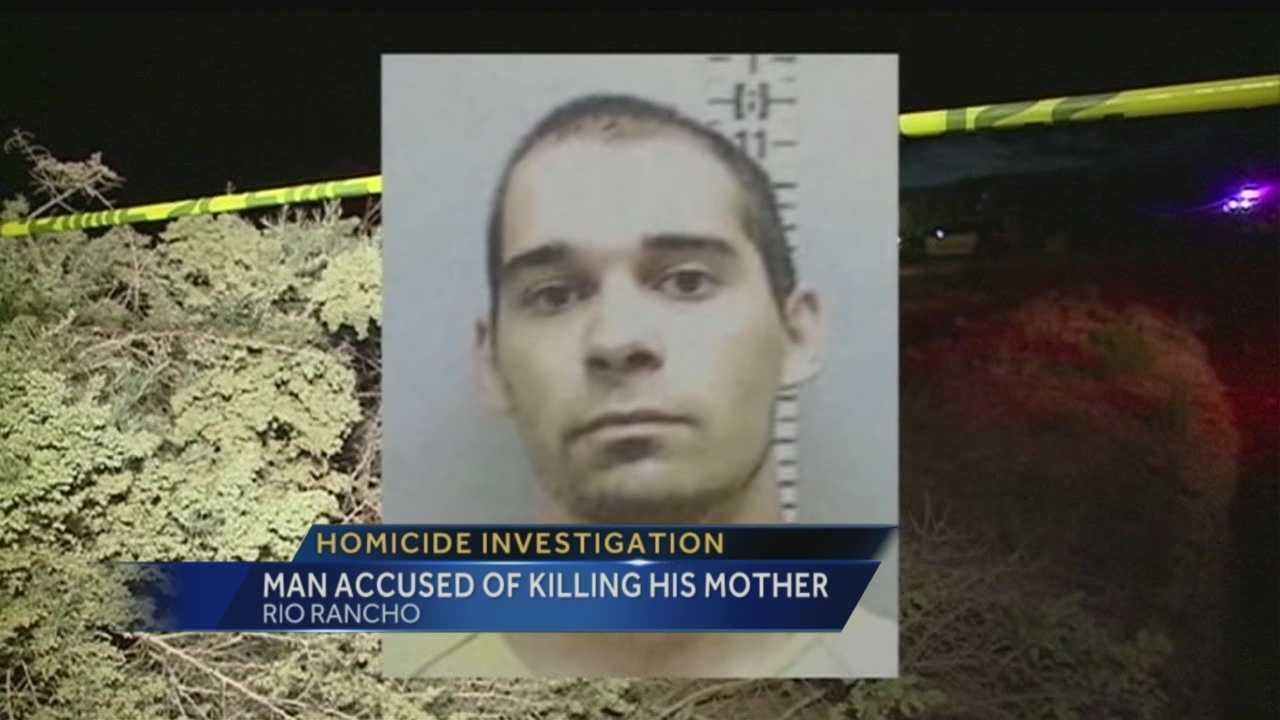 Rio Rancho police have arrested a 25-year-old in connection with the slaying of his mother that happened Sunday along Second Street near Sandia Boulevard.