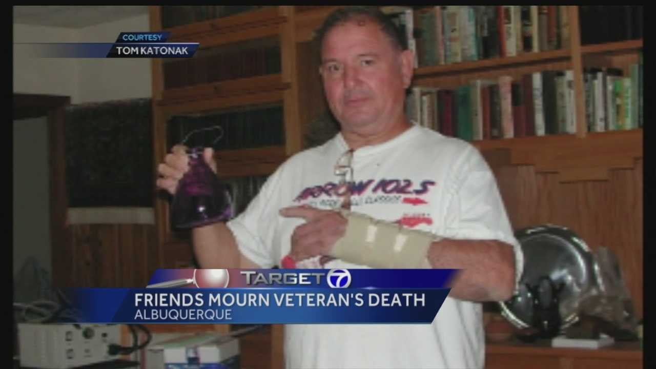 A 71-year-old veteran collapsed in the Albuquerque Veterans Affairs Hospital this past week, minutes away from the emergency room, where he died.
