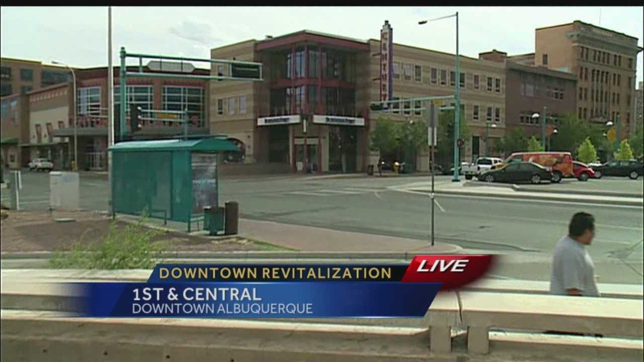 Downtown Albuquerque is struggling to bring in people and keep businesses, but the city believes it can change that by creating an entertainment hub with a courtyard and plaza for concerts.