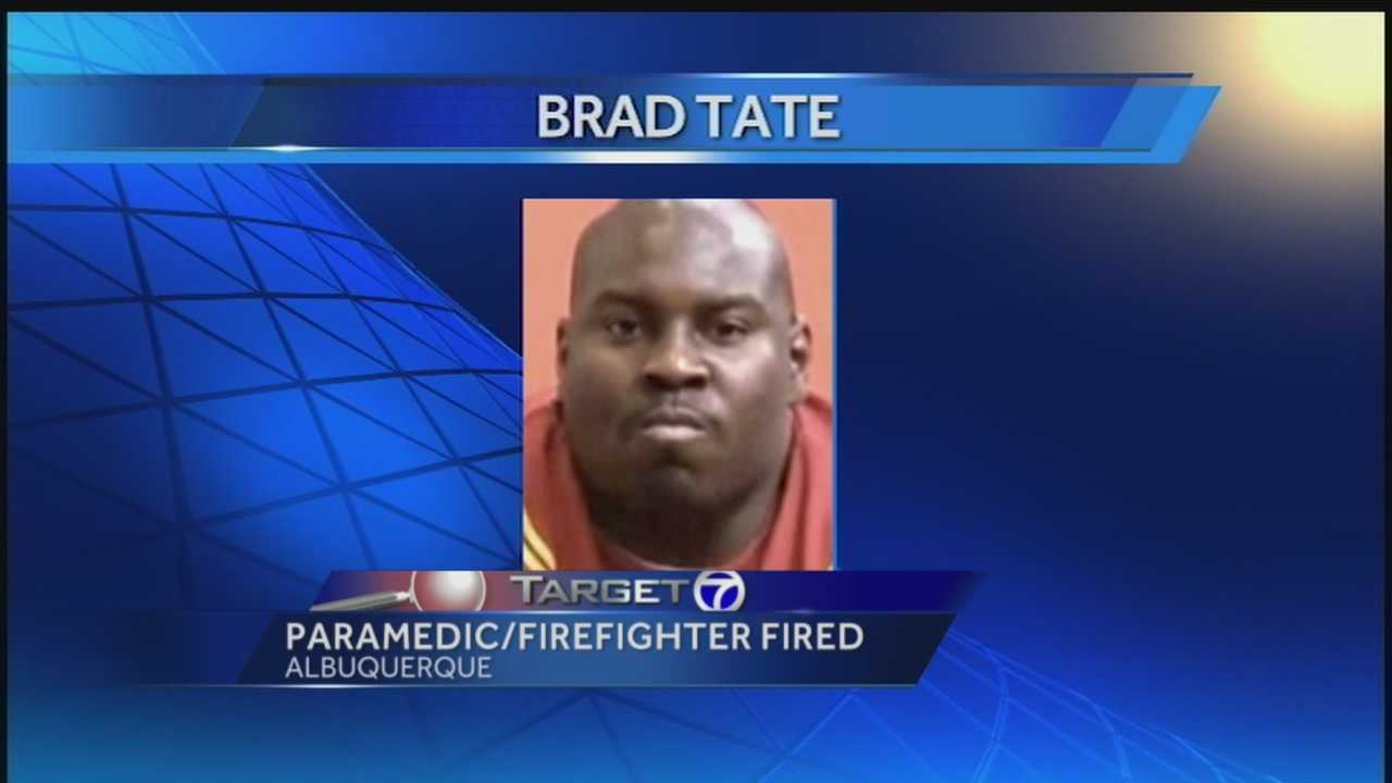 Paramedic/firefighter fired