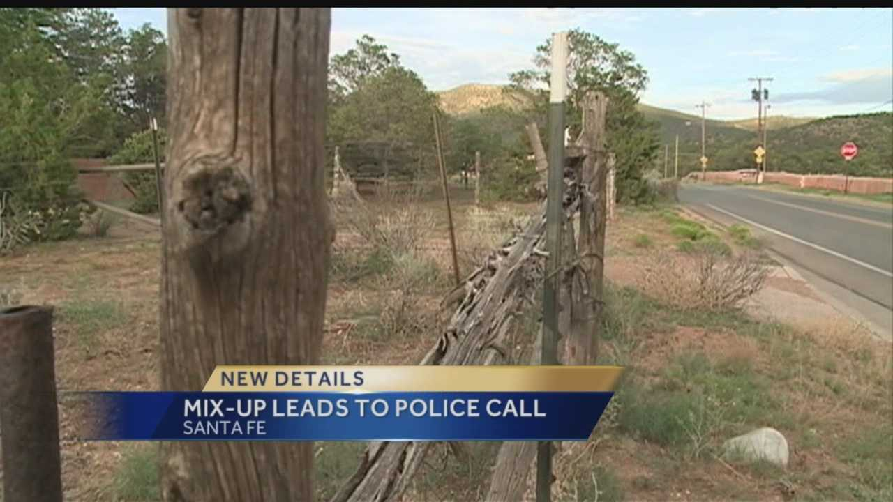 A Santa-Fe women thought her house was being robbed when she saw a car in the driveway, so she called police, turns out the man in her driveway was picking up his dogs poop.