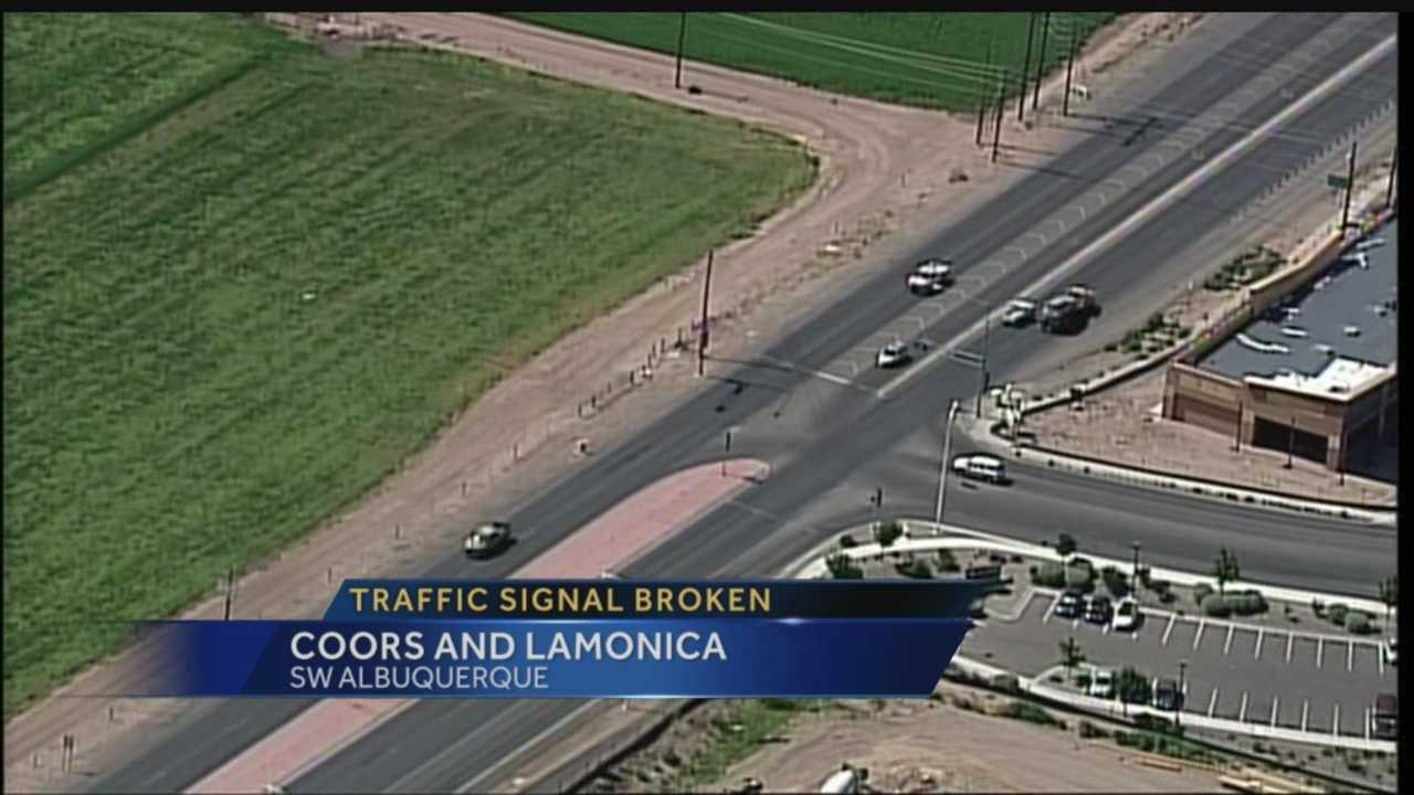 A dangerous intersection in the South Valley is getting worse before it gets better.