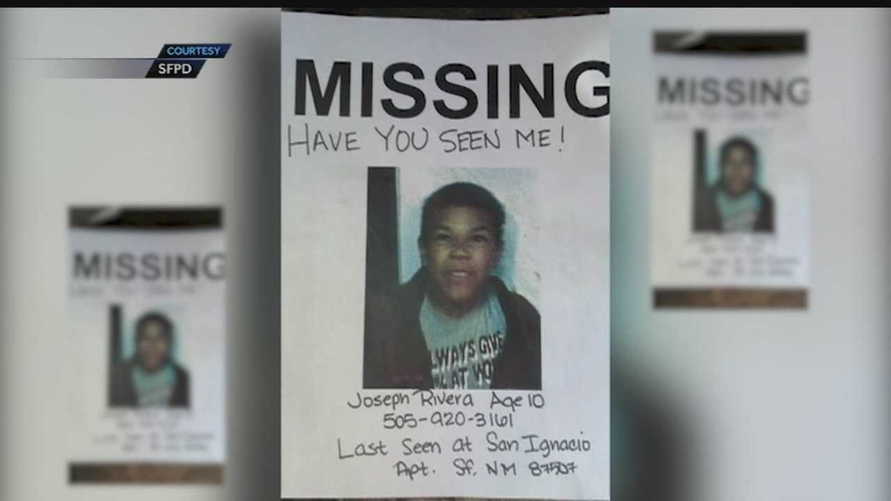Santa Fe police have located Joseph Carlos Rivera, 10, who was reported missing overnight.