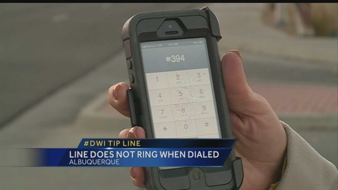 A hotline you pay for is supposed to be a quick, easy way to report drunk drivers. But to get someone on the line could take a while.
