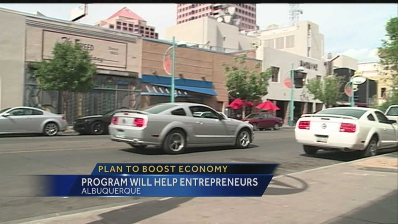 Albuquerque Mayor Richard Berry thinks attracting start-ups could be the key to reviving Albuquerque's economy.
