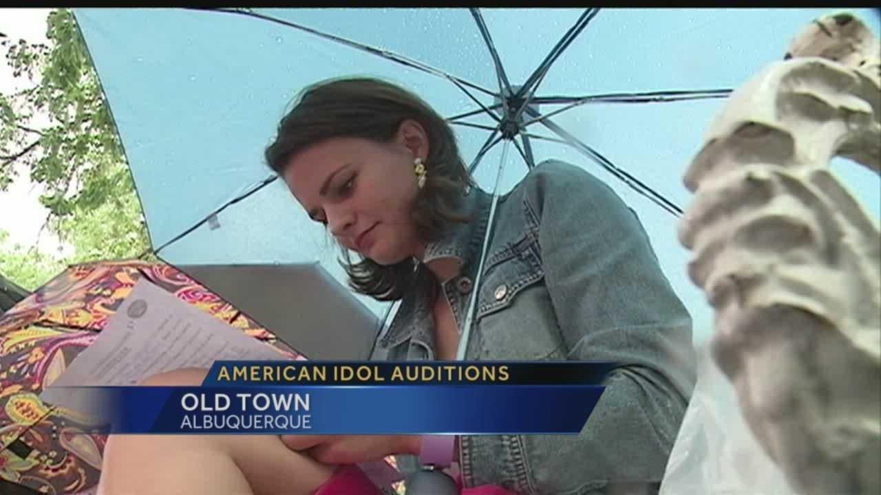 """American Idol"" auditions came to Albuquerque for the first time Tuesday."
