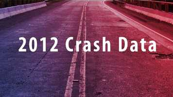The following crash data is from 2012. Intersections with same amount of crashes received the same ranking.
