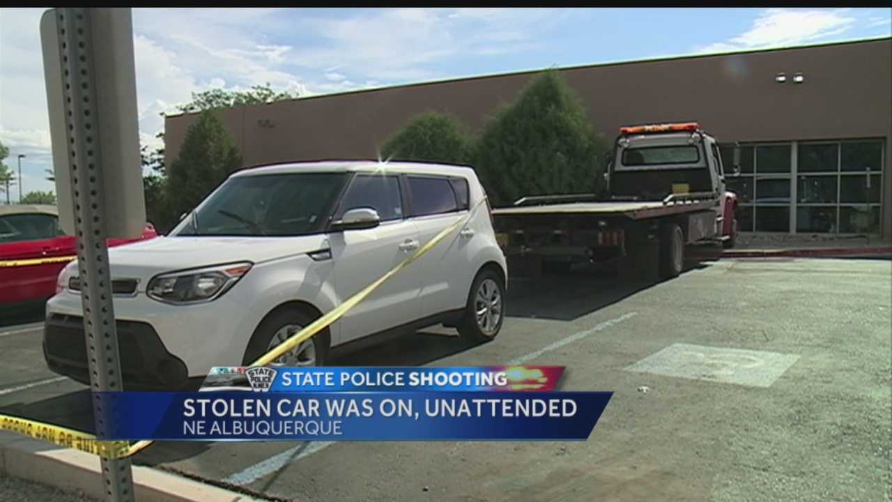NMSP shooting: Stolen car was on, unattended