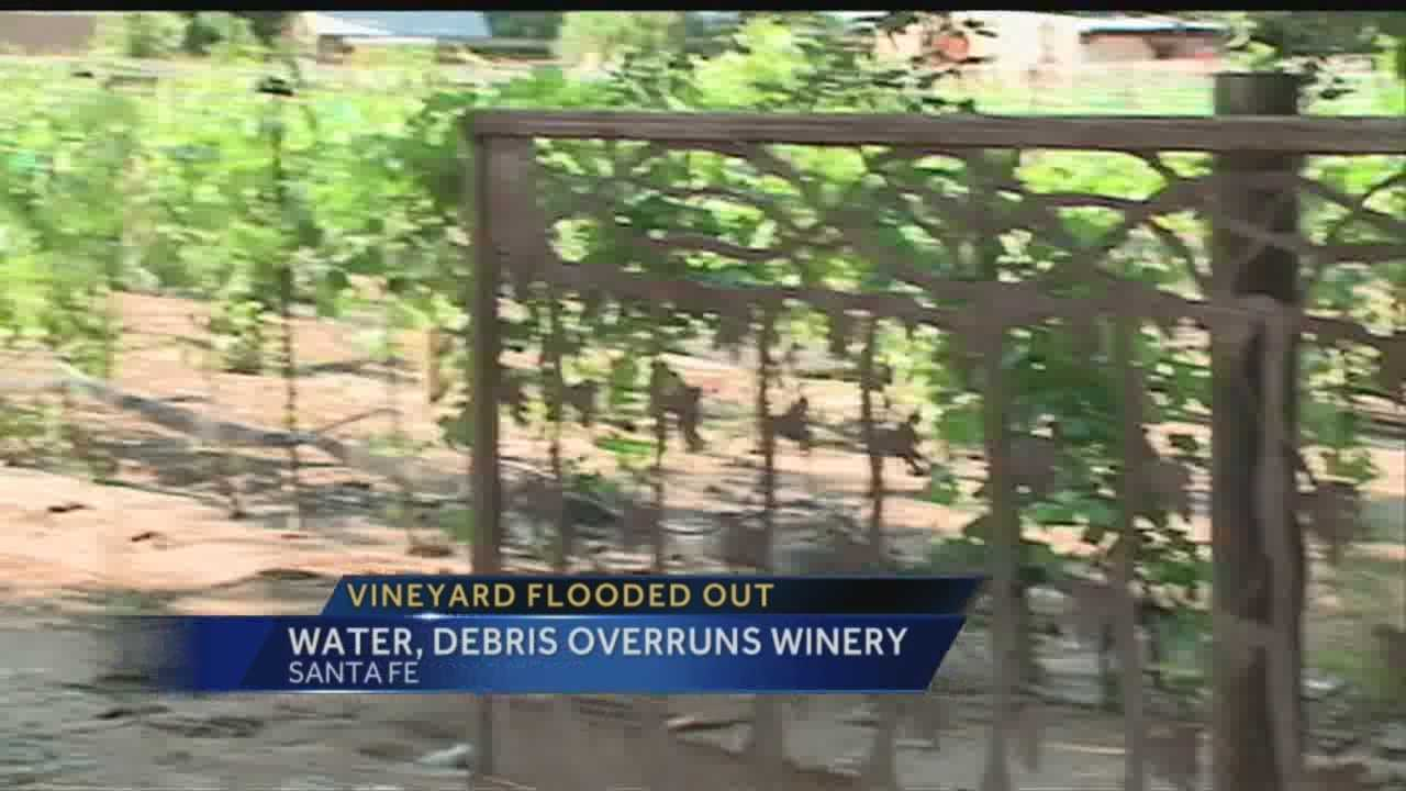Santa Fe Winery Flood and Award