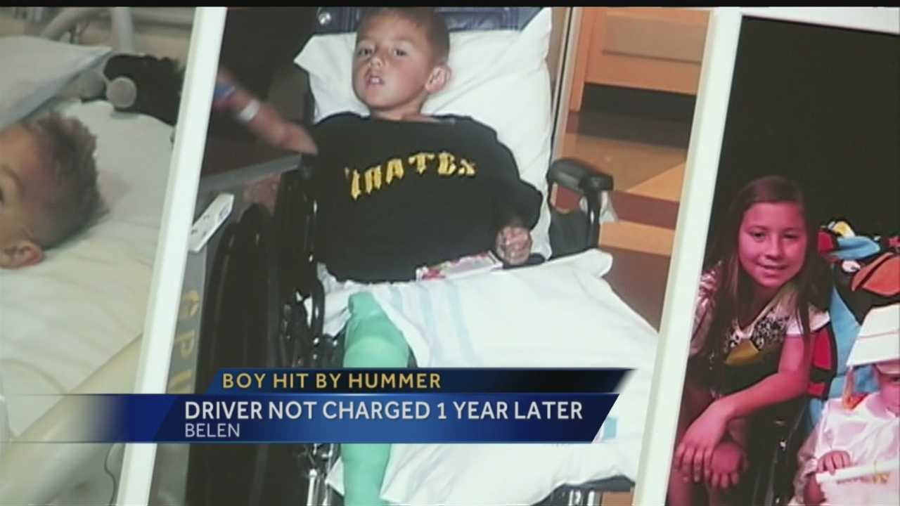Hit-and-run driver nearly killing a little boy two years ago, is still not charged.