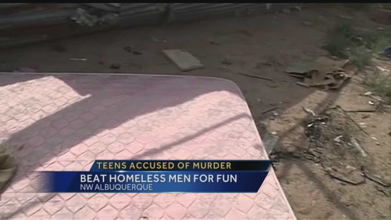 Teens Accused Of Killing Homeless Men