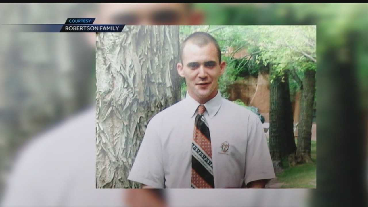 The family of a man killed during Tuesday's officer-involved shooting has said they don't blame Albuquerque police and that they knew Jeremy Robertson's life would end tragically.