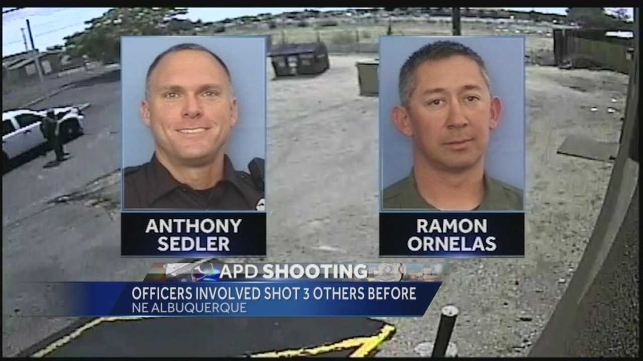 APD shooting: Officers involved shot 3 others before