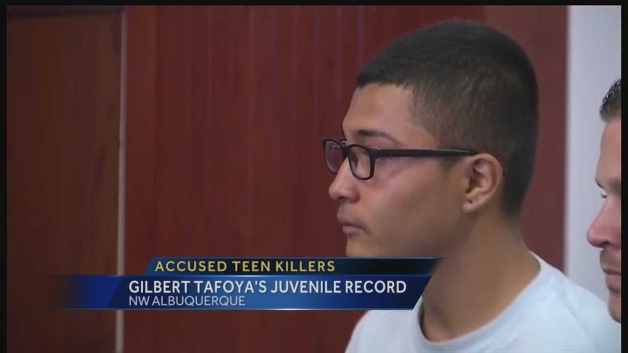Gilbert Tafoya is one of the teens accused of beating two homeless men to death, and the 15-year-old is facing some very grownup charges.