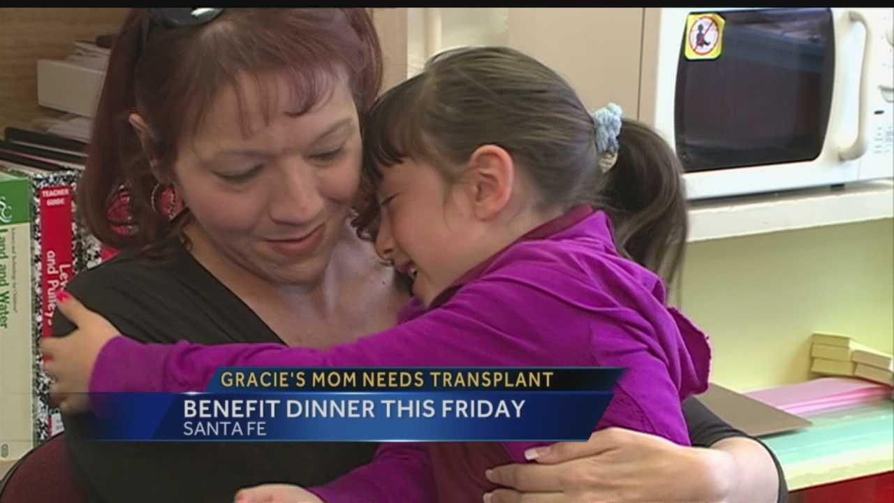 Gracie's mom needs a transplant