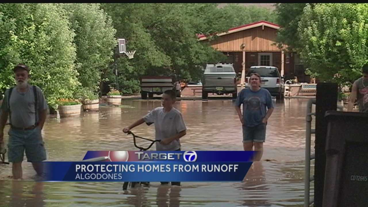 Algodones flooding: Protecting homes from runoff