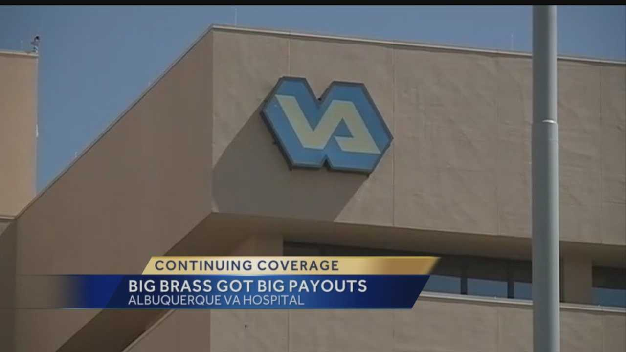 Continuing VA coverage: Big brass got big payouts
