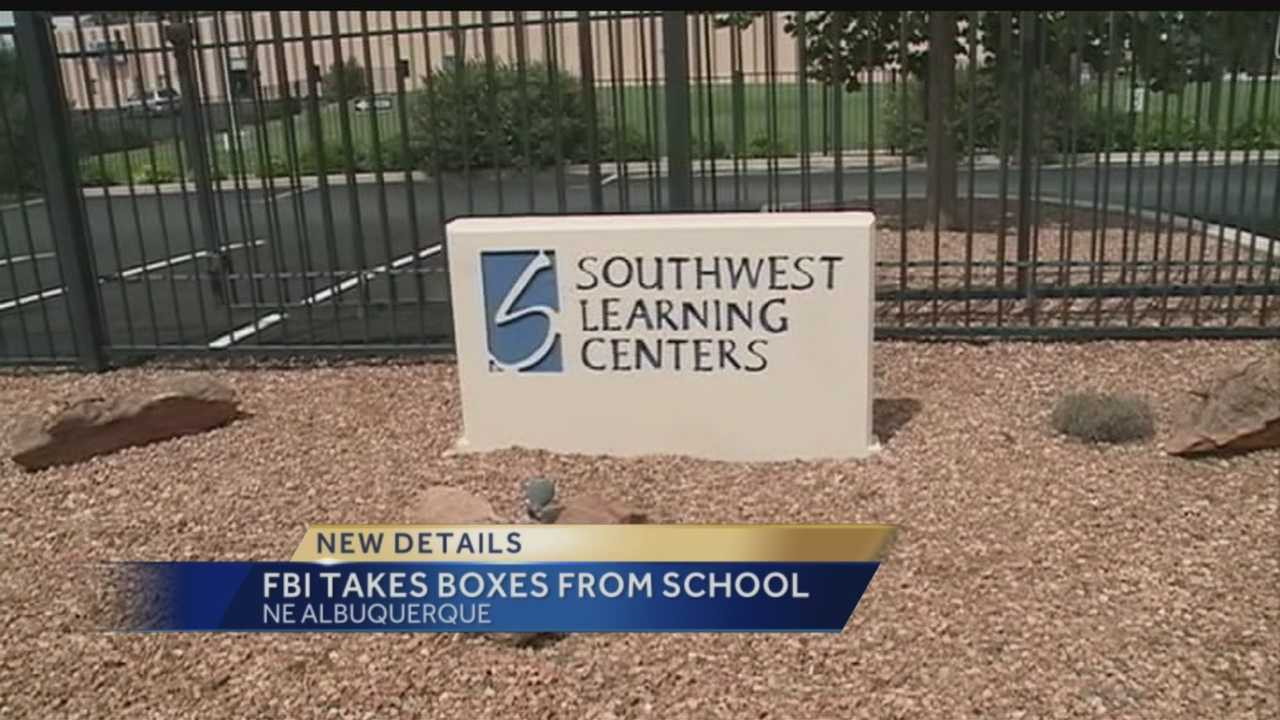 A charter school in northeast Albuquerque is back open after the FBI closed it Friday.