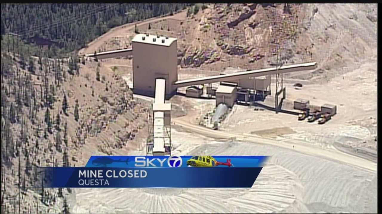Questa mine closure: Last day in operation