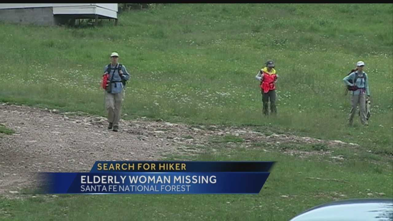 Search for hiker