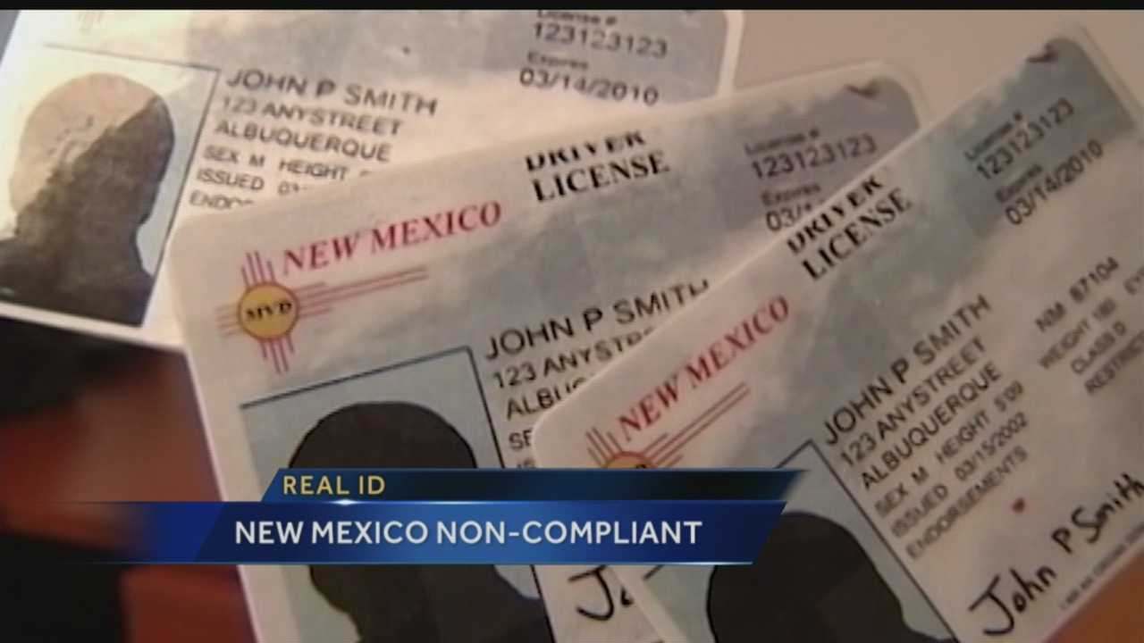 New Mexico ID Potential Huge Problem