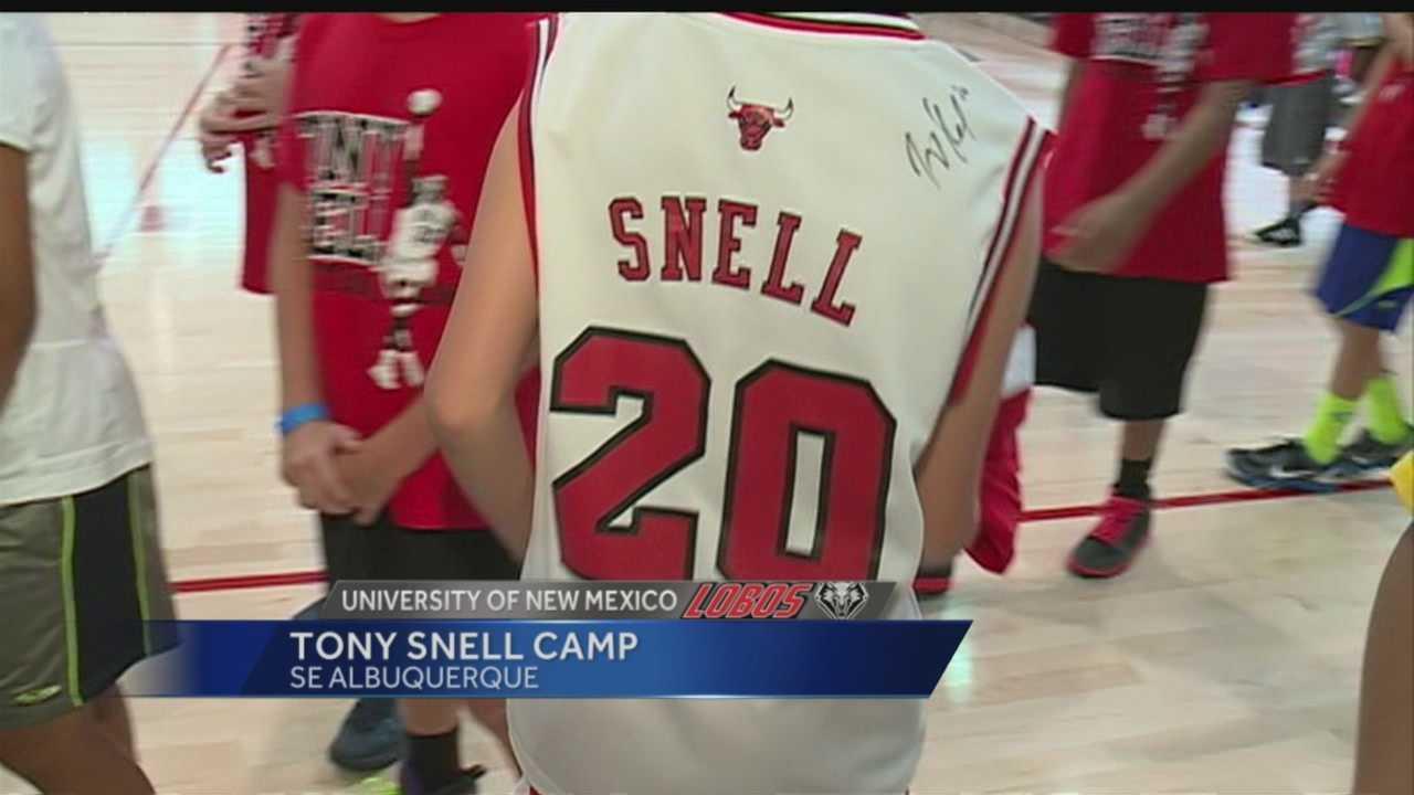 UNM Lobos: Tony Snell Camp