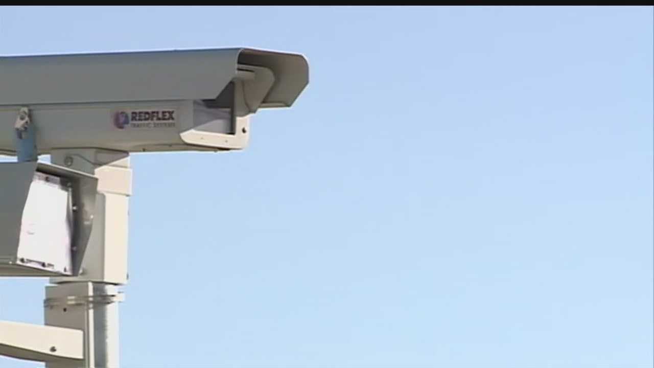 Tonight two Rio Rancho councilors hashed out the pros and cons about a red light camera system.